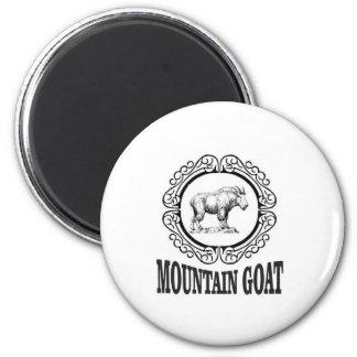 Aimant art de chèvre de montagne