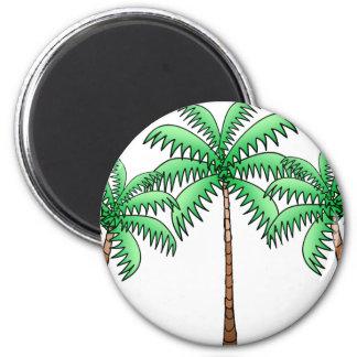 Aimant art de palmier