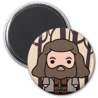 Aimant Art de personnage de dessin animé de Hagrid