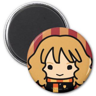 Aimant Art de personnage de dessin animé de Hermione