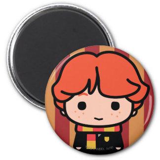 Aimant Art de personnage de dessin animé de Ron Weasley