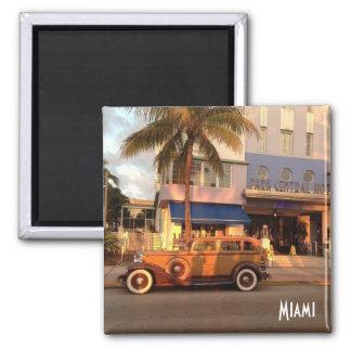 Aimant Art déco Miami Beach