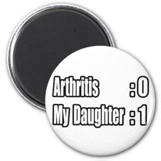 Aimant Arthrite du battement de ma fille