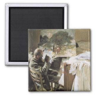 Aimant Artiste dans son studio par Sargent, beaux-arts