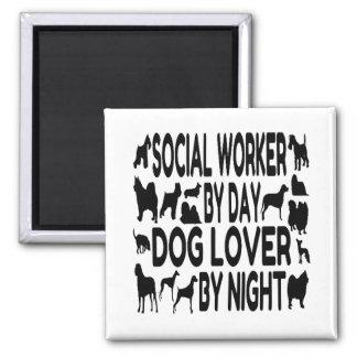 Aimant Assistant social d'amoureux des chiens