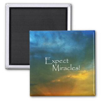 Aimant Attendez-vous à des miracles !