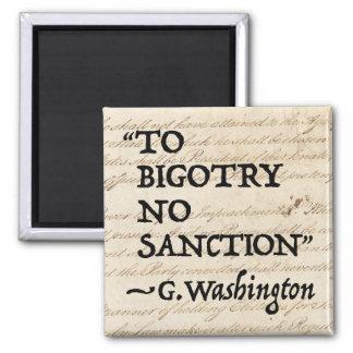 Aimant Au fanatisme aucune sanction