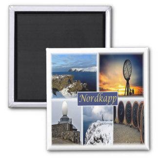 Aimant AUCUNS * la Norvège - cap de nord de Nordkapp