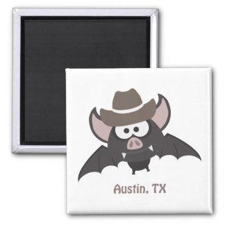 Aimant Austin, le Texas - batte de cowboy