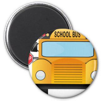 Aimant autobus scolaire