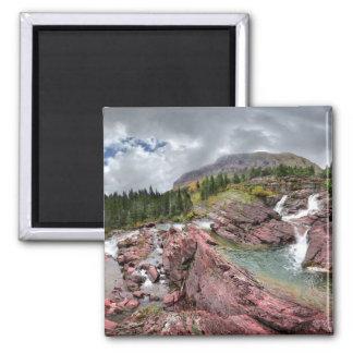 Aimant Automnes de Redrock - parc national de glacier