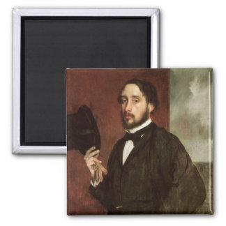 Aimant Autoportrait d'Edgar Degas |, c.1862
