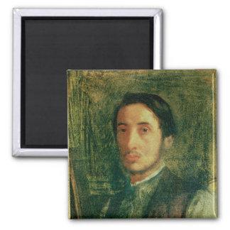 Aimant Autoportrait d'Edgar Degas | en tant que jeune