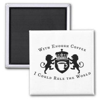 Aimant Avec de assez du café je pourrais ordonner