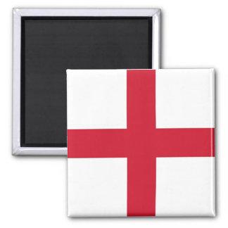Aimant avec le drapeau de l'Angleterre