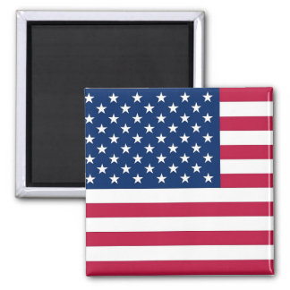Aimant avec le drapeau des Etats-Unis