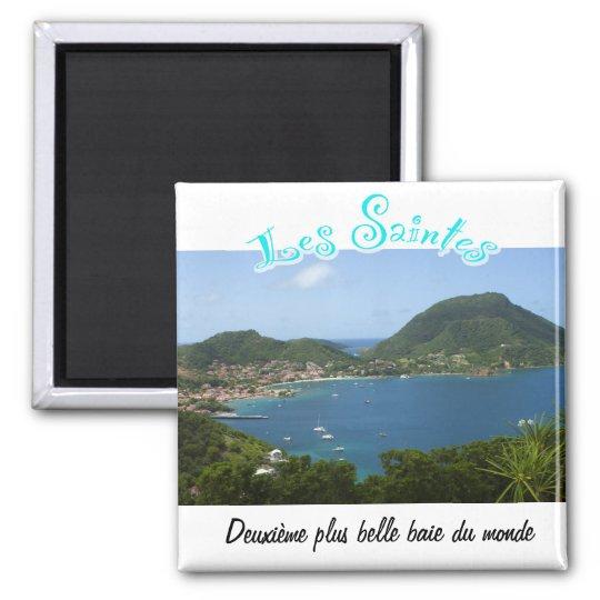 Aimant Baie des Saintes (Guadeloupe)