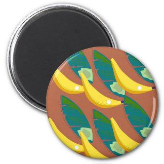 Aimant Bananes exotiques de conception