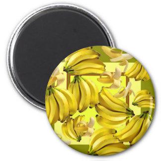 Aimant bananes jaunes