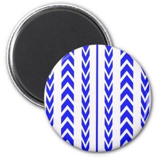 Aimant Bande de roulement bleue de pneu