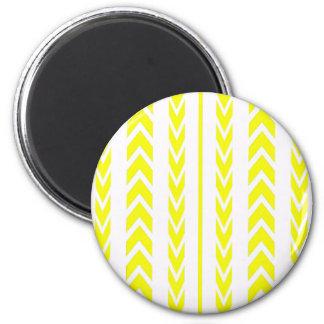 Aimant Bande de roulement jaune de pneu