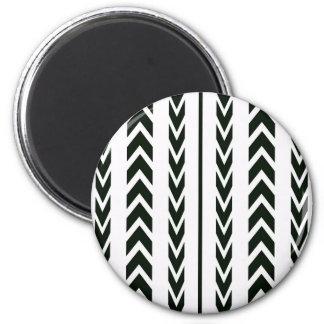 Aimant Bande de roulement noire de pneu