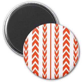 Aimant Bande de roulement orange de pneu