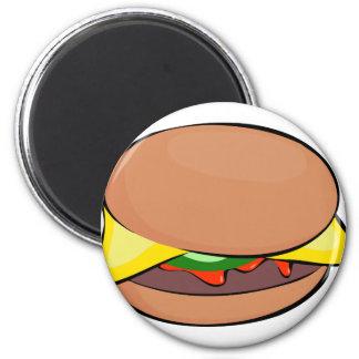 Aimant Bande dessinée de cheeseburger