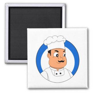 Aimant Bande dessinée de chef