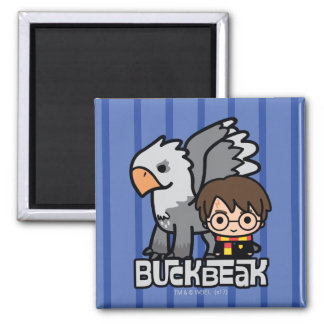 Aimant Bande dessinée Harry Potter et Buckbeak