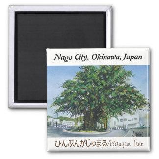 Aimant Banian de l'Okinawa d'aimant de peinture