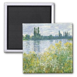 Aimant Banques de Claude Monet | de la Seine, Vetheuil,