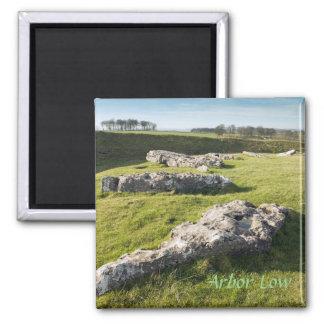 Aimant Bas cercle en pierre d'axe en photo de Derbyshire