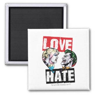 Aimant Batman | Harley Quinn et amour de joker/haine