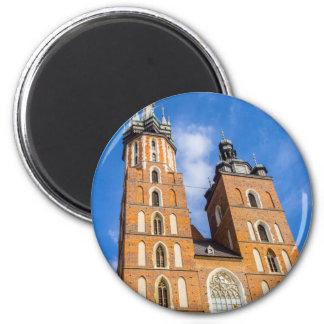 Aimant Beaautiful Cracovie, église de Mariacki, divers