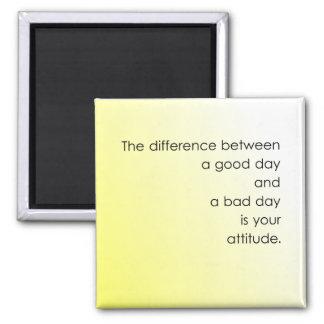 Aimant Beau jour contre le mauvais jour