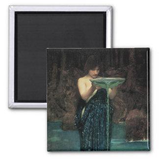 Aimant Beaux-arts victoriens, Circe Invidiosa par le