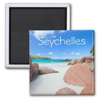 Aimant Belle côte rocheuse en Seychelles