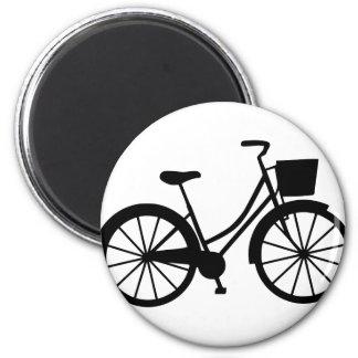 Aimant Bicyclette avec le panier