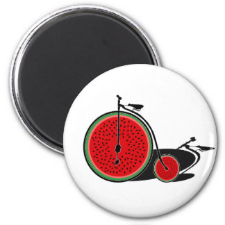 Aimant Bicyclette de pastèque