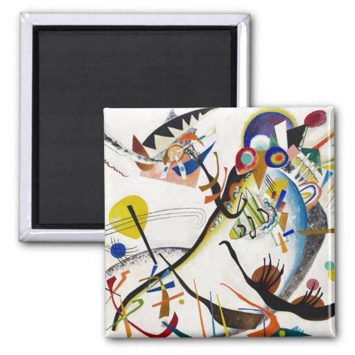 Aimant bleu de segment de Kandinsky