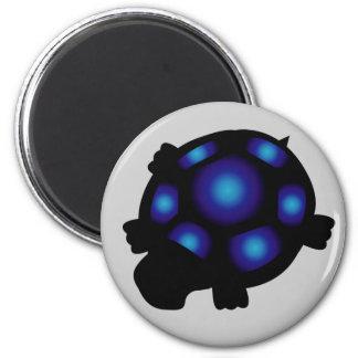 Aimant bleu et noir de tortue
