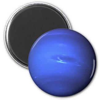 Aimant Bleu extérieur de photo de Neptune
