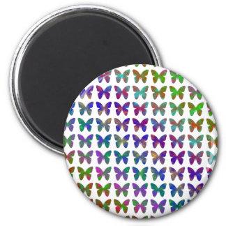 Aimant Bonheur de papillon