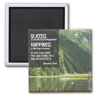 Aimant Bonheur la clé au succès