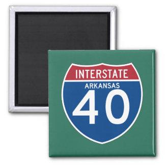 Aimant Bouclier d'autoroute nationale de l'Arkansas AR
