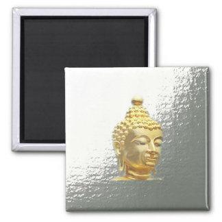 Aimant Bouddha en argent