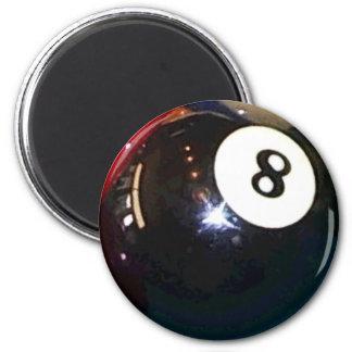 Aimant boule de piscine 8-Ball