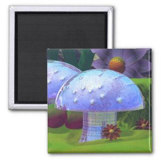 Aimant brillant de champignon