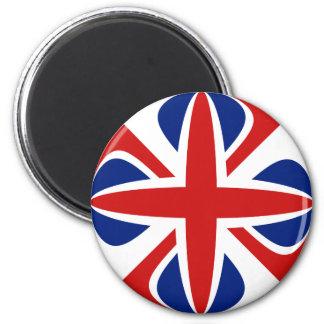 Aimant BRITANNIQUE de drapeau de Fisheye